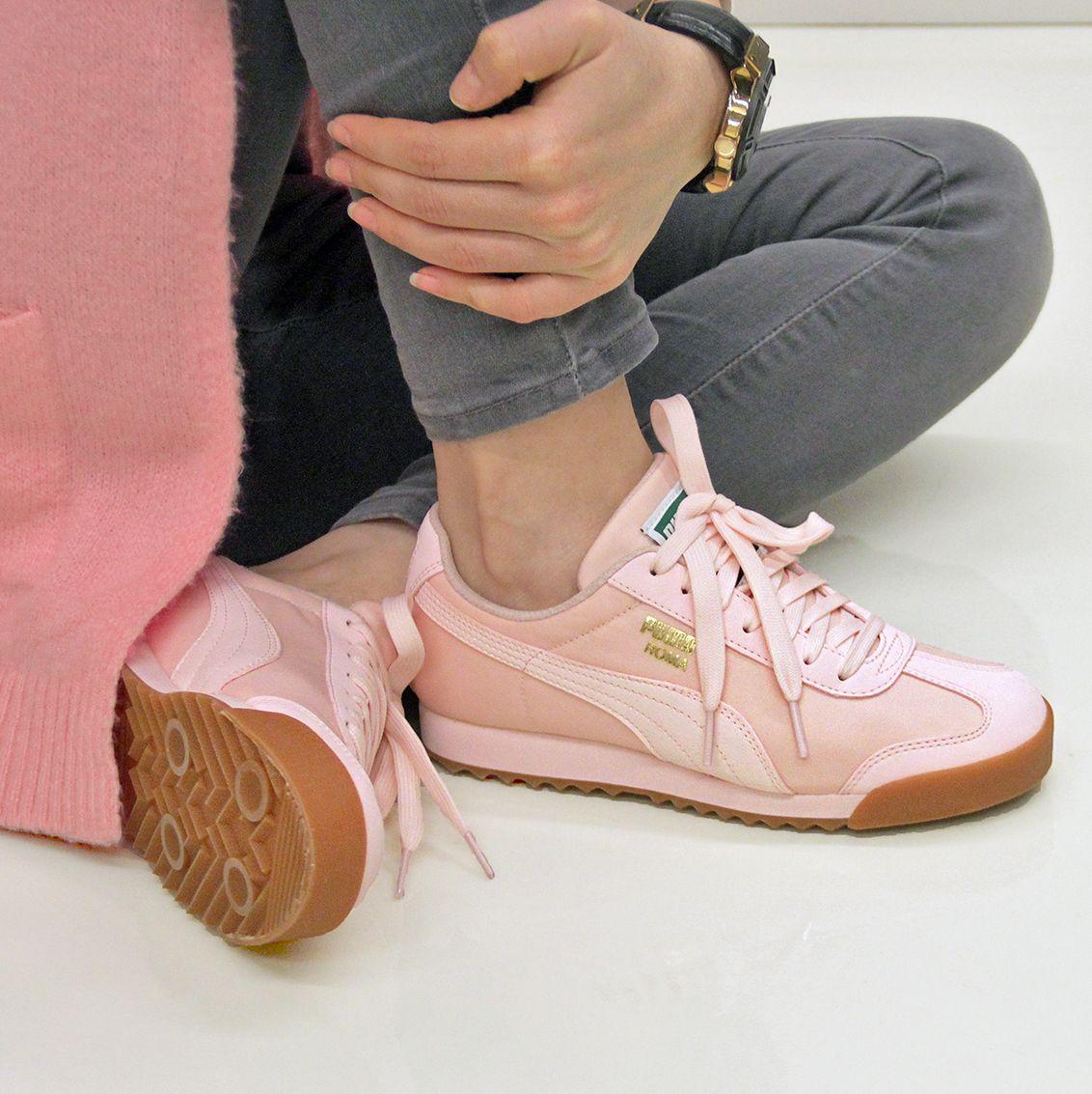 puma mujer zapatos rosas