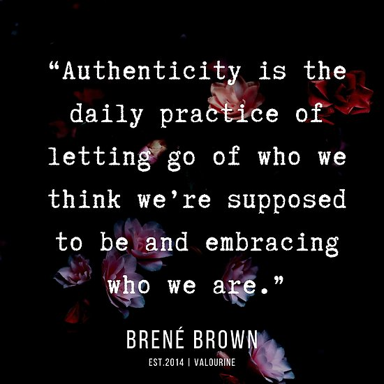 35 | Brené Brown Quotes  | 190717 |     Poster by QuotesGalore