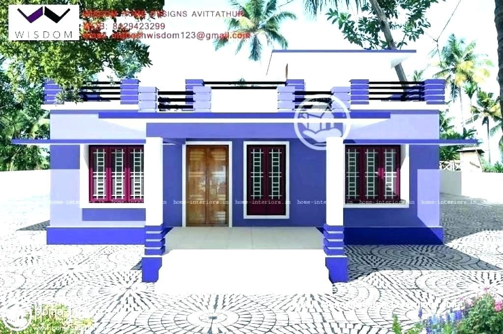 Simple New Small Home Design House Design Pictures Village House Design Simple House Design