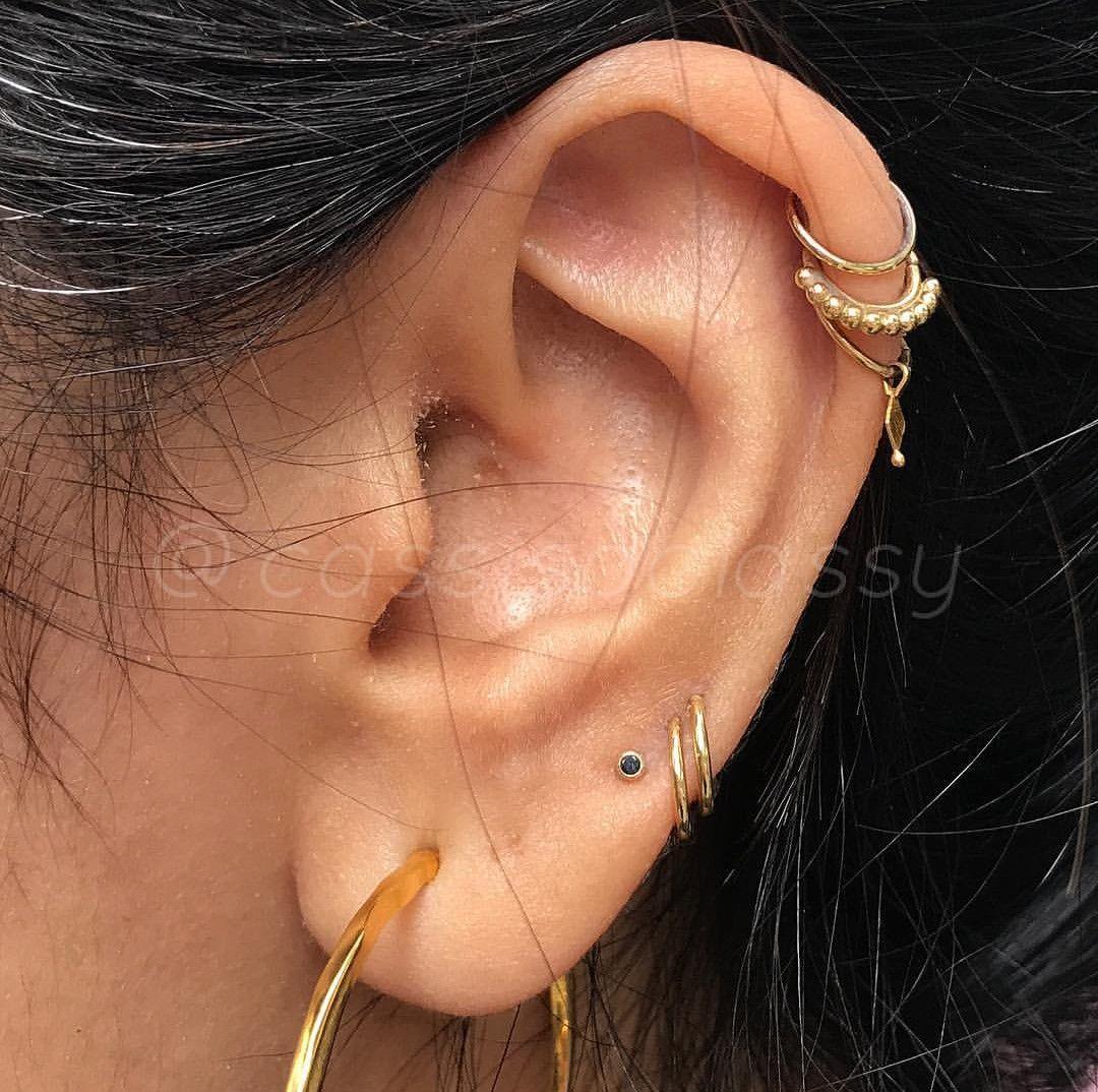 Body piercing pain chart  Earrings  Double high lobe  Pinterest  Detail
