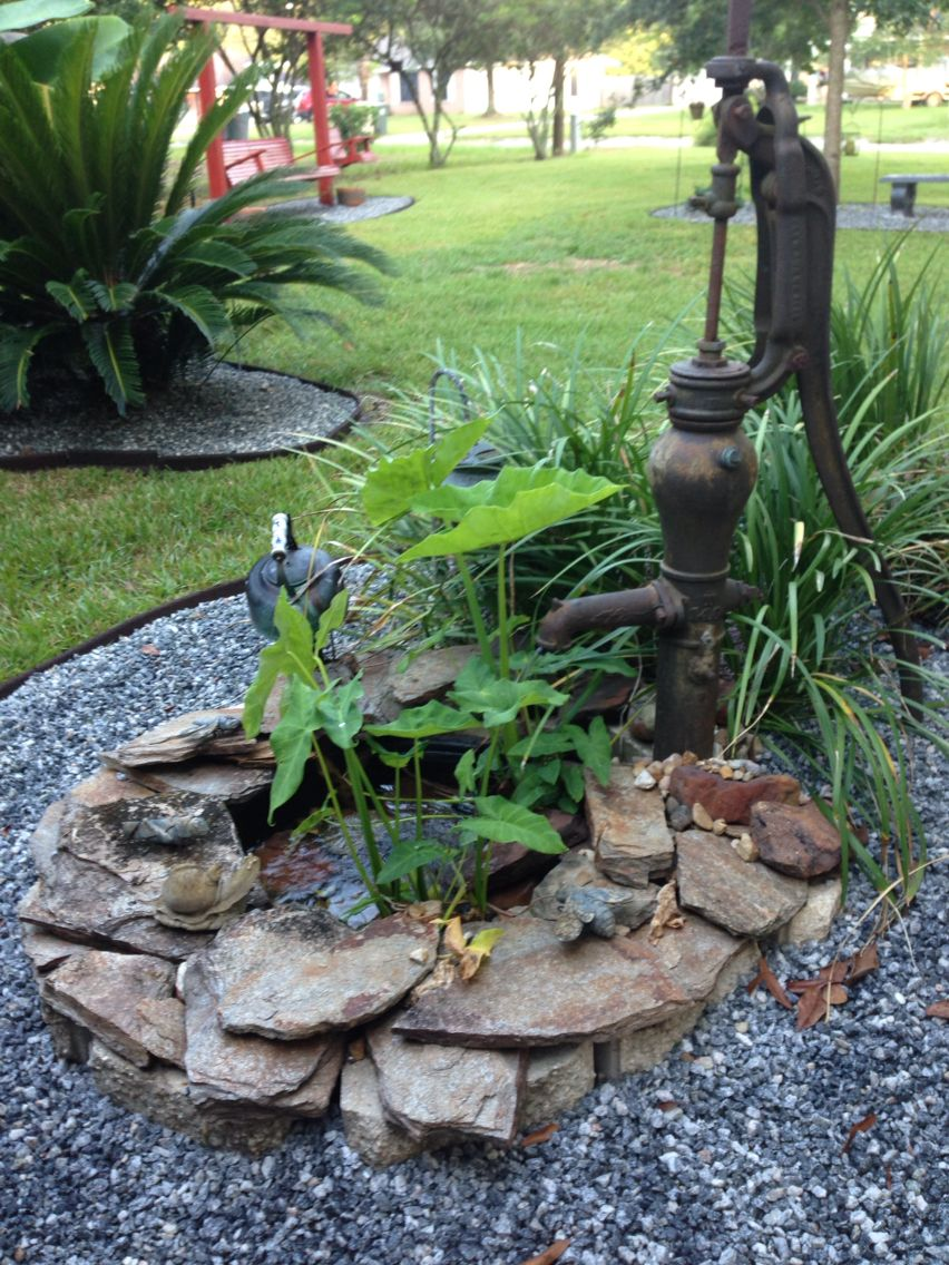 Easy To Do Fountain With Recycled Tea Pot And Water Pump Water Features In The Garden Fountains Outdoor Garden Fountains