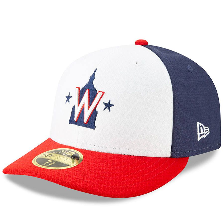 huge discount 152d0 bf537 Men s Washington Nationals New Era Red White 2019 Batting Practice Low  Profile 59FIFTY Fitted Hat, Your Price   37.99