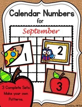 Need to update your calendar?  This product has 3 sets of numbers that you can mix and match to make your own patterns.