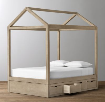 Cole House Storage Bed