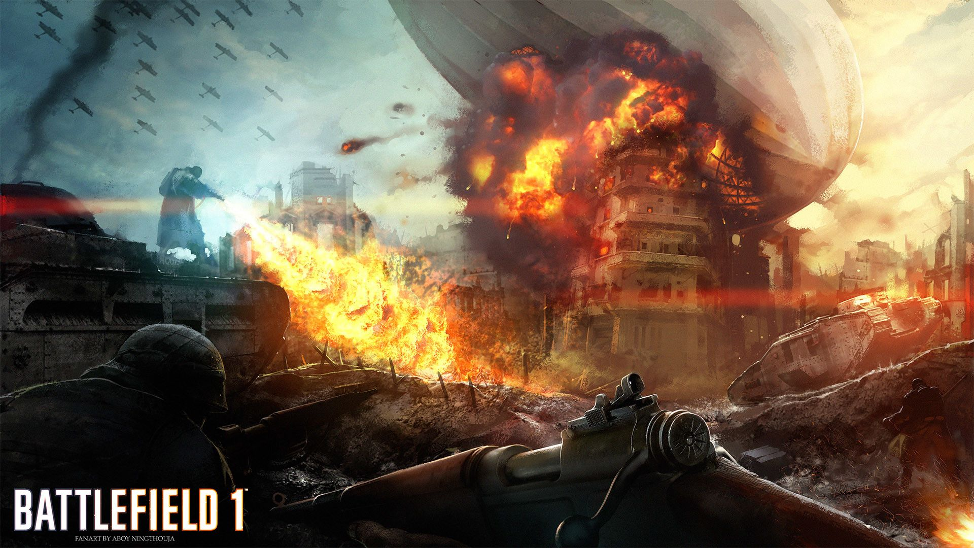 Ferocious Battlefield 1 [1920x1080] | Beautiful Wallpaper