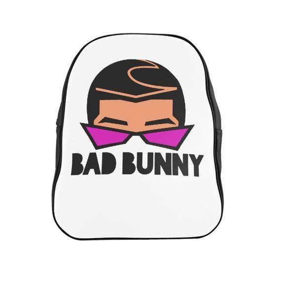 Bad Bunny X100pre School Backpack #badbunny Bad Bunny X100pre School Backpack #badbunny