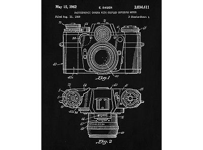 Camera patent print photography blueprint art photographer poster camera patent print photography blueprint art photographer poster illustration view more on malvernweather Image collections