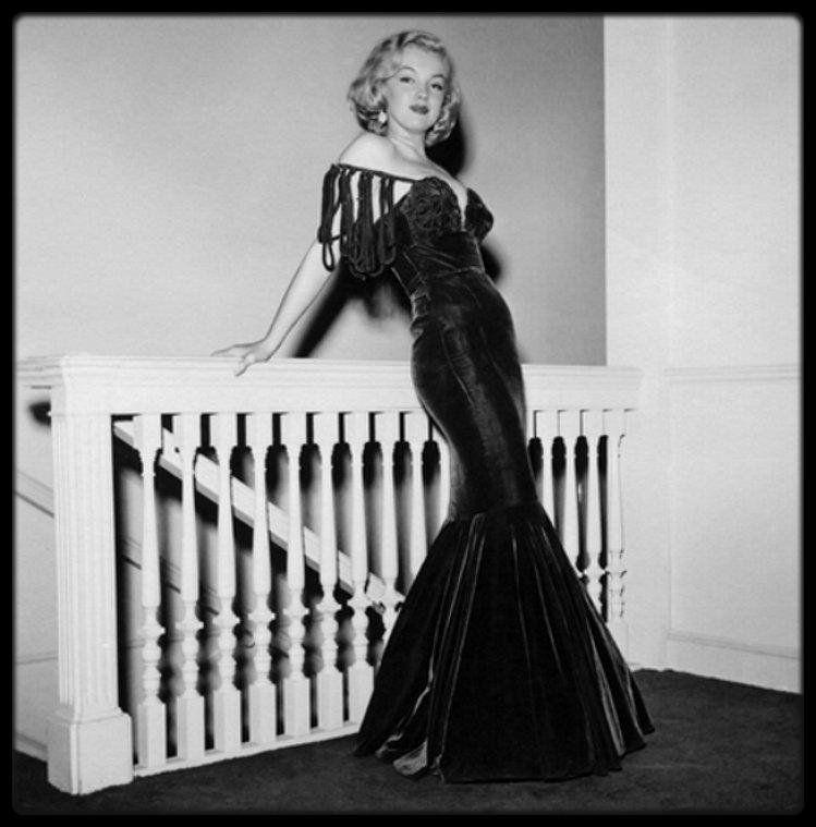 """1949 / RARE Marilyn à l'époque du tournage du film """"The Asphalt jungle"""" de HUSTON."""