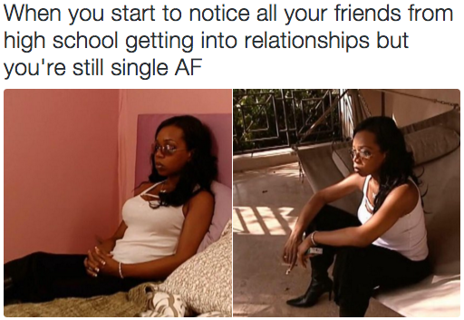 When You Feel Like You Re The Only One Not In A Relationship Single Memes Memes Funny Pictures