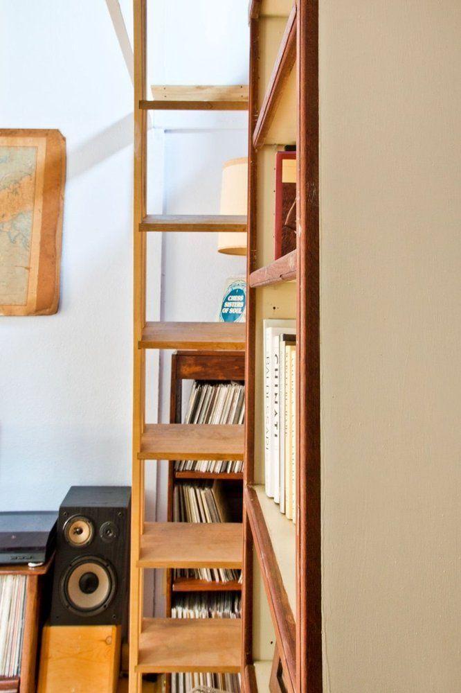 Ben S Tiny But Comfy 250 Square Foot Studio Tiny Loft Square Feet House Tours