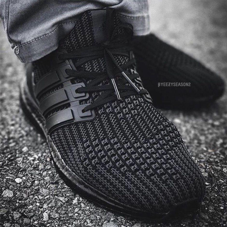 Adidas Ultra Boost 4 0 Triple Black Sneakernews Com Sneakers Fashion Adidas Ultra Boost Ultra Boost Triple Black