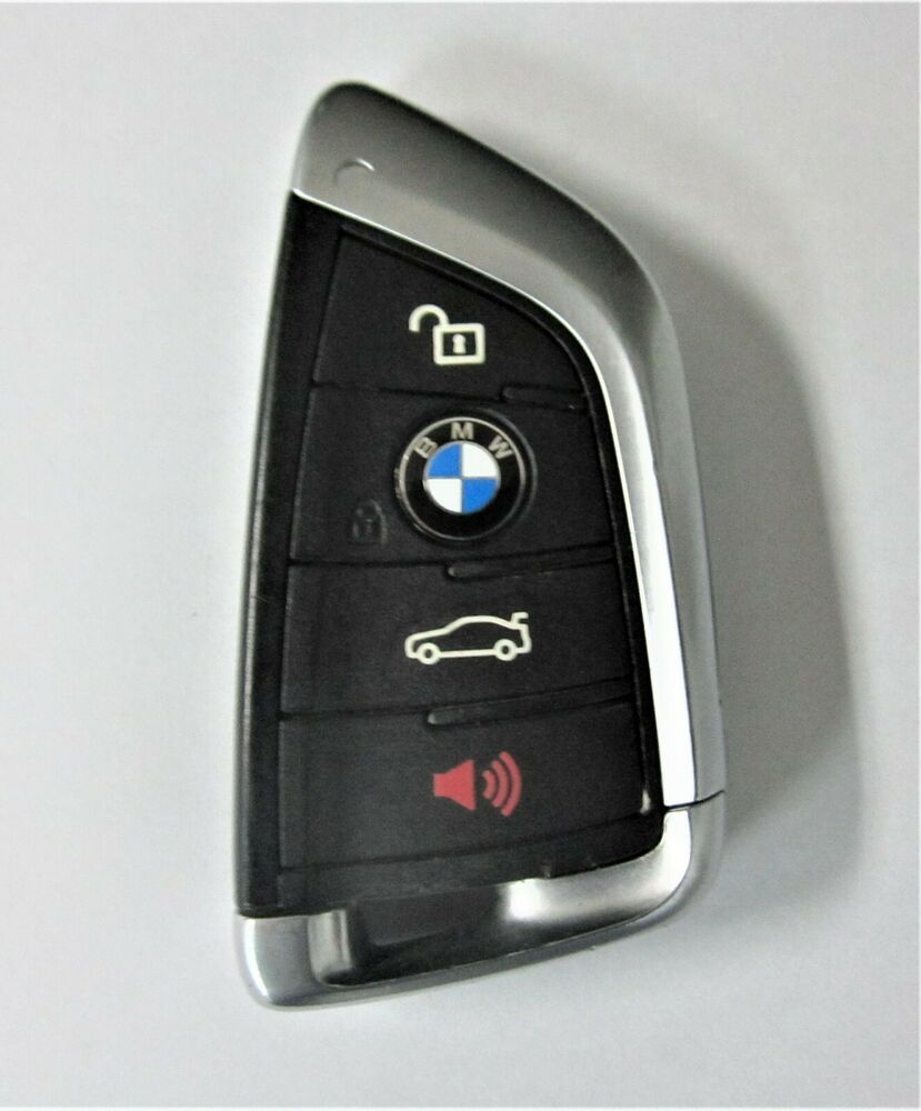Remote Control Blade Key Shell Fob 4 Button Smart Case for BMW X5//X6