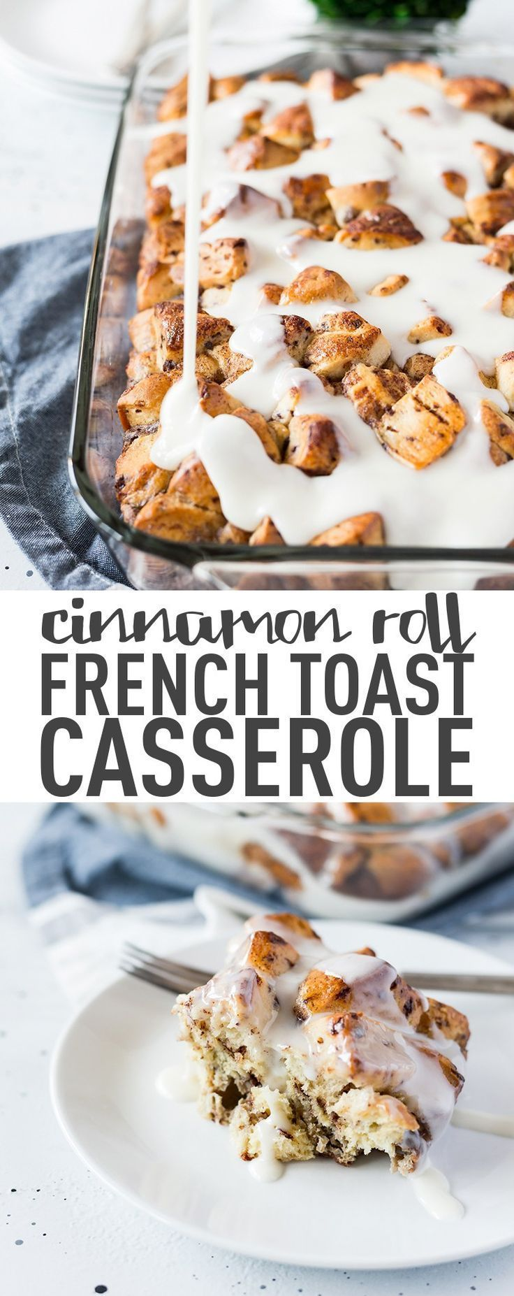 Photo of Easy Cinnamon Roll French Toast Casserole Recipe – Powered By Mom If you like ci…