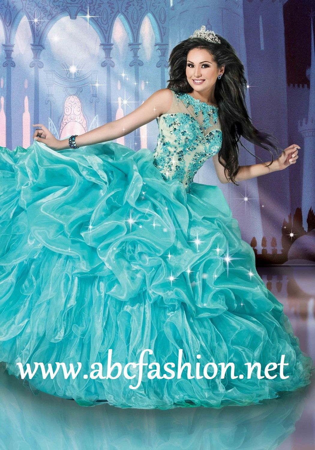 Disney Royal Ball Quinceanera Dress Cinderella Style 41082 | fiesta ...