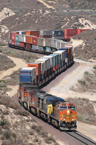 CAJON PASS | BNSF CAJON SUB in 2019 | Train, Bnsf railway, Model trains
