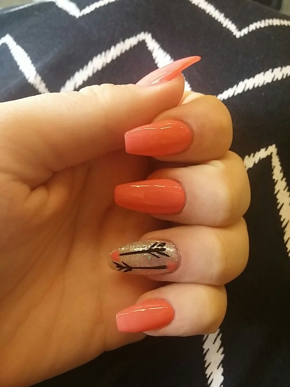 Super cute nails! By Lisa at Beauty Queen salon