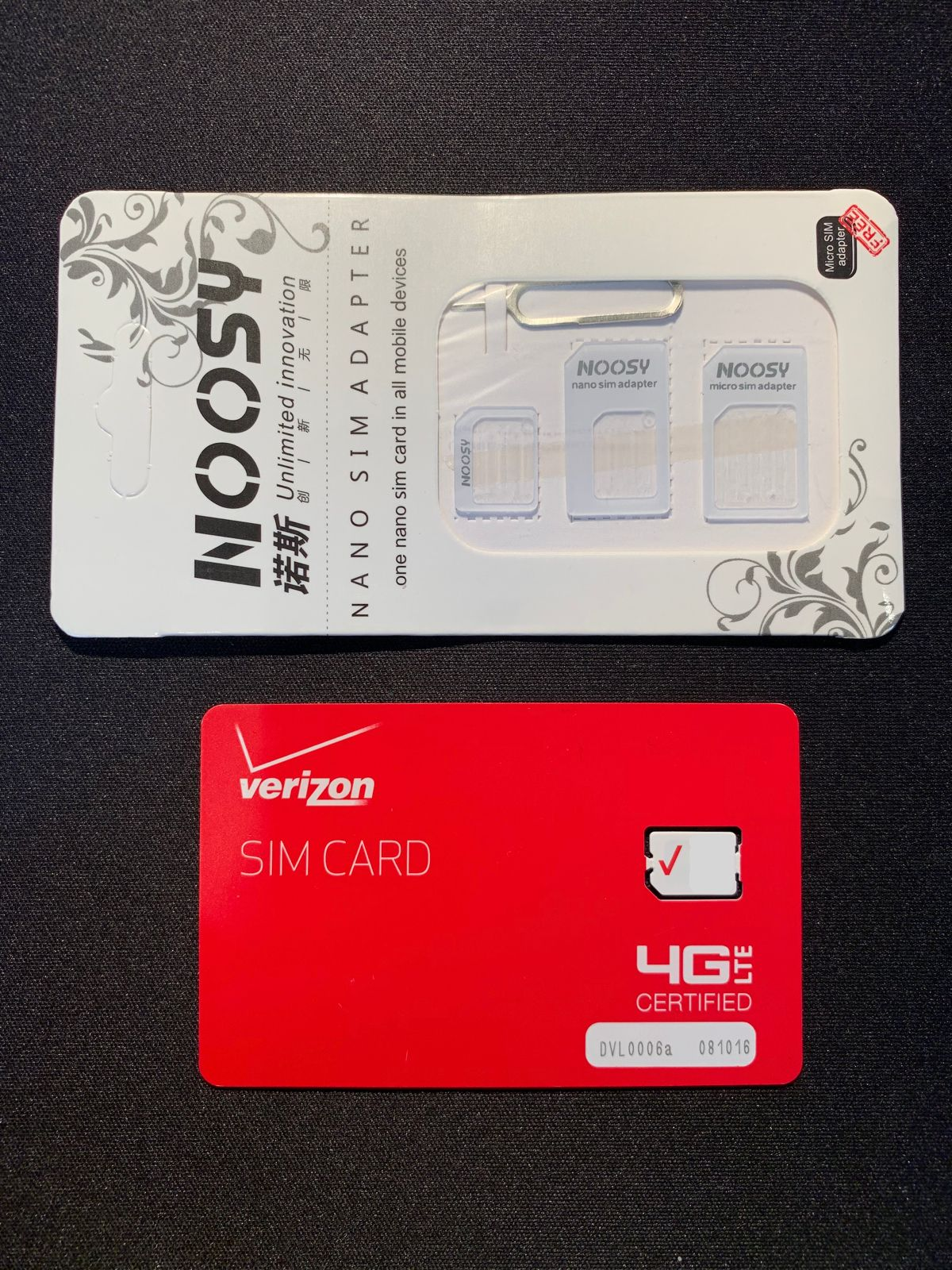 Phone Cards and SIM Cards 146492: Verizon Unlimited 4G Lte