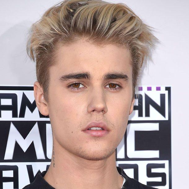 Justin bieber frisur blond