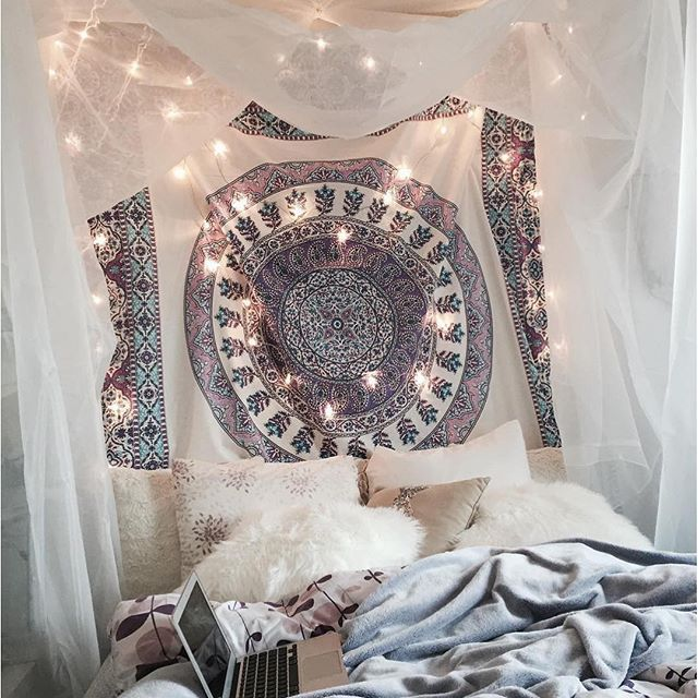 cute girl bedroom ideas your daughter will love a room filled with color patterns and cute accessories click through to find oh so pretty bedroom - Bedroom Tapestry