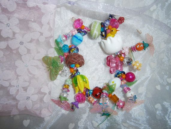 Easter Bracelet by BeadieBracelet on Etsy, $10.00