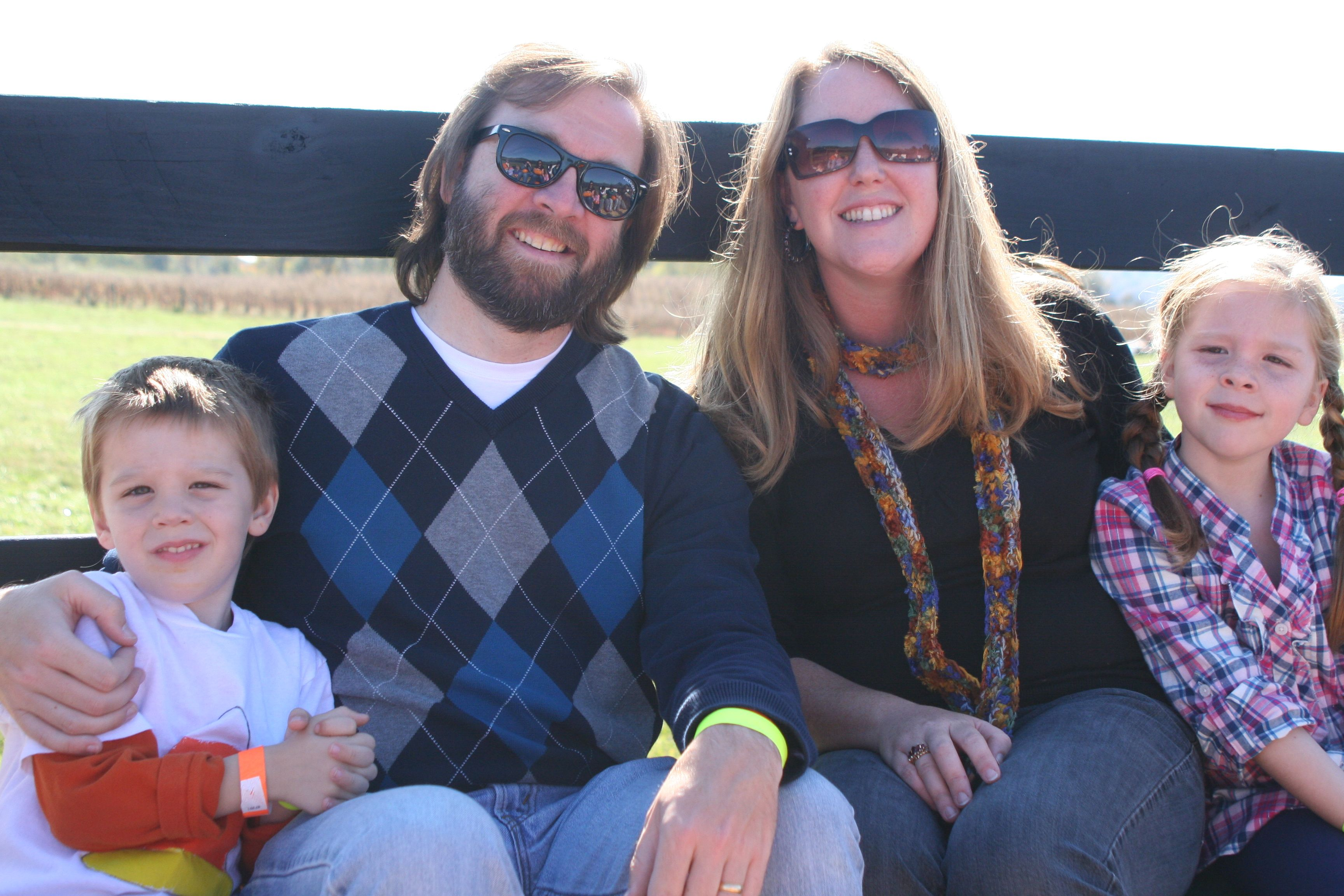 Family Hay Ride at a local pumpkin patch Family fun