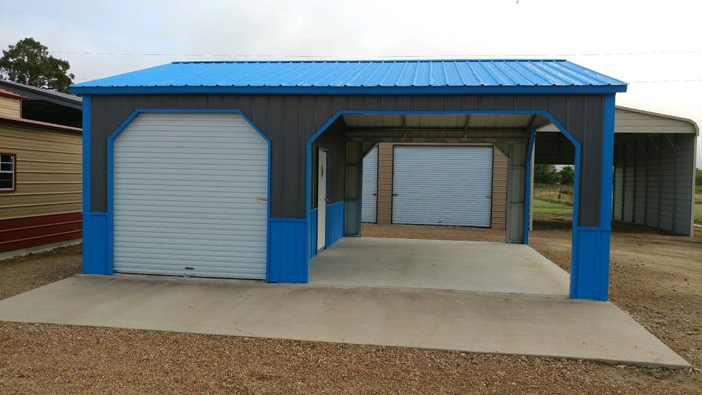 Carport With Shed Storage Sheds Carports Attached Carport Plans