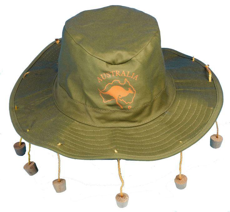 2cda5e969d03d3 Image result for straw hat with corks | Scarlett drama | Australian ...