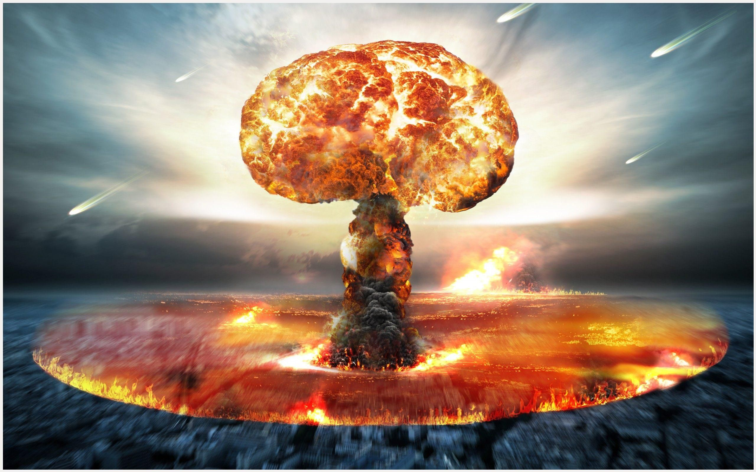 Nuclear Explosion Wallpaper Doomsday Clock Nuclear Bomb Atomic Bomb