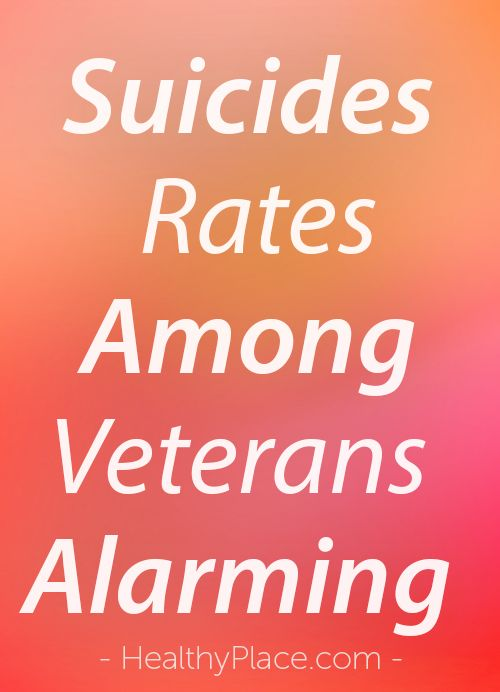 Suicides Rates Among Veterans Alarming What Can We Do Ptsd