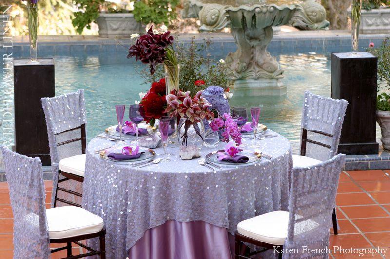 Wildflower Linen High Fashion Table Linens Wedding Chair