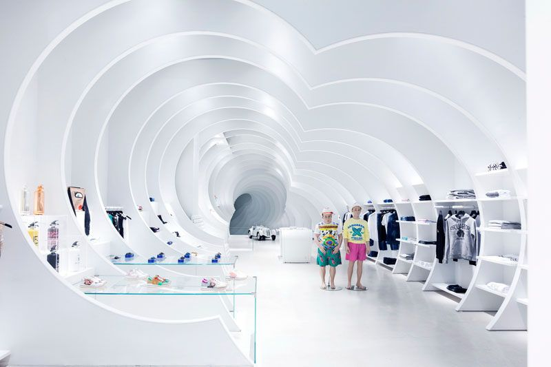 Charmant This Store In Miami Was Designed With A Tunnel Like Interior. Retail Store  DesignRetail ...