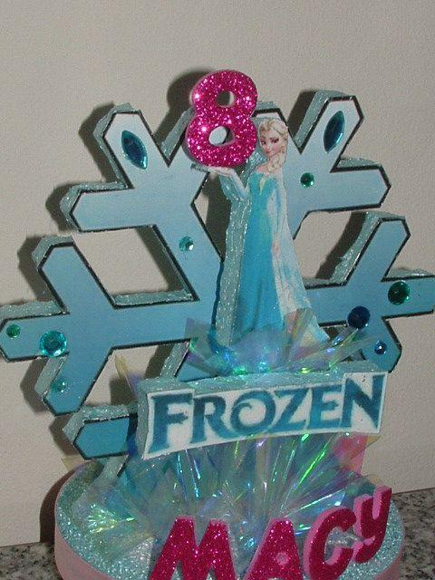 FROZEN Elsa 3D Cake Topper or 3D Table Top CENTERPIECE by JKkidz, $21.95