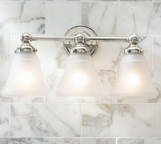 Sussex Triple Sconce Pottery Barn And Bath - Triple bathroom sconce