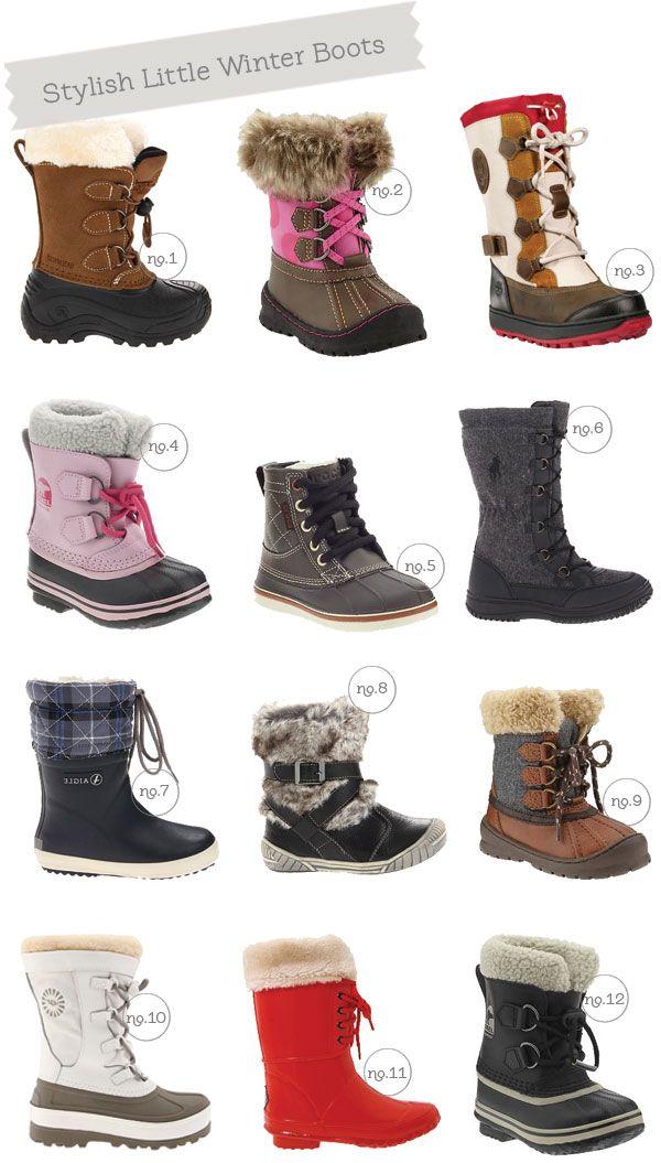 Stylish Little Winter Boots | Hellobee
