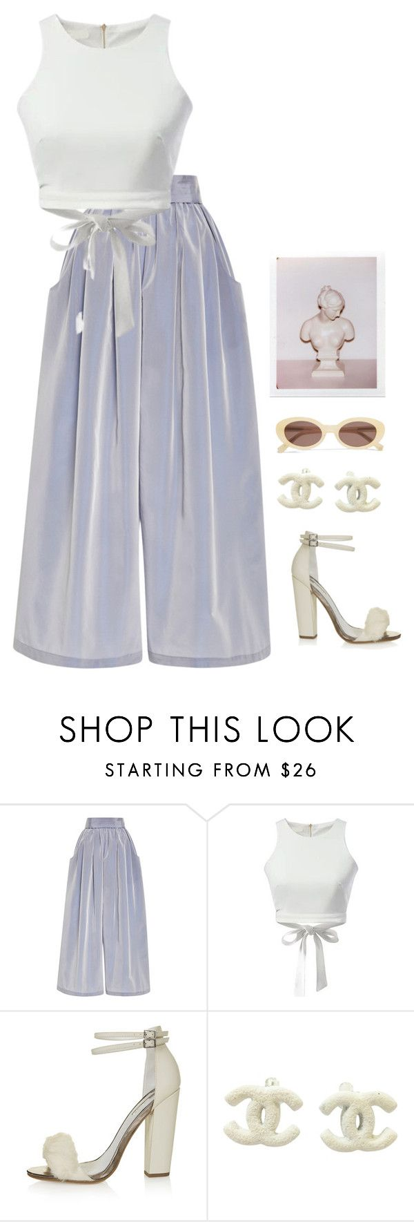 """Untitled #930"" by streetyouth ❤ liked on Polyvore featuring Tome, WithChic, Topshop, Chanel and Elizabeth and James"