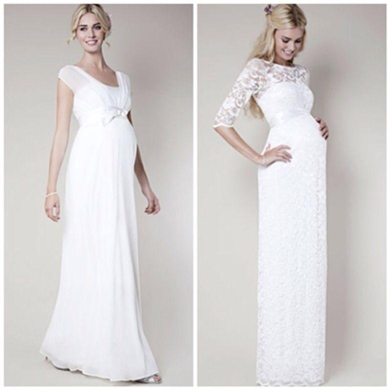 Vestidos de novia para embarazadas   Pregnancy, Pregnancy clothes ...