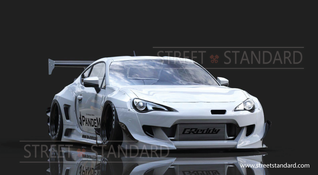 Pandem FRS Ver3 Rocket Bunny Kit | Cars | Scion frs, Subaru