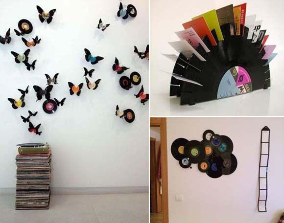 Ideas para decorar la casa con discos de vinilo lps and - Ideas para decorar la casa ...