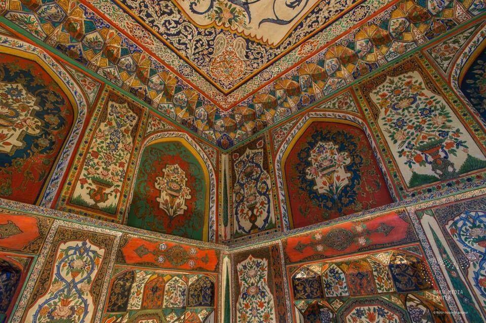 A Summer Residence For The Shaki Khans Was Built In 1797 By Muhammed Hasan Khan Azerbajdzhan Islamic Art Shaki Palace