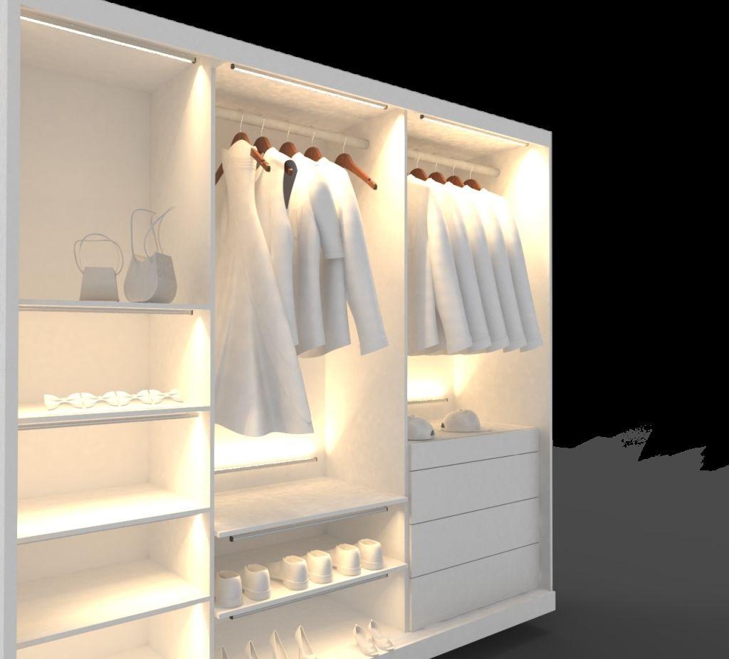 Was Sagt Jeder Beleuchtung Über Ist Einen Begehbaren Kleiderschrank CexBdo