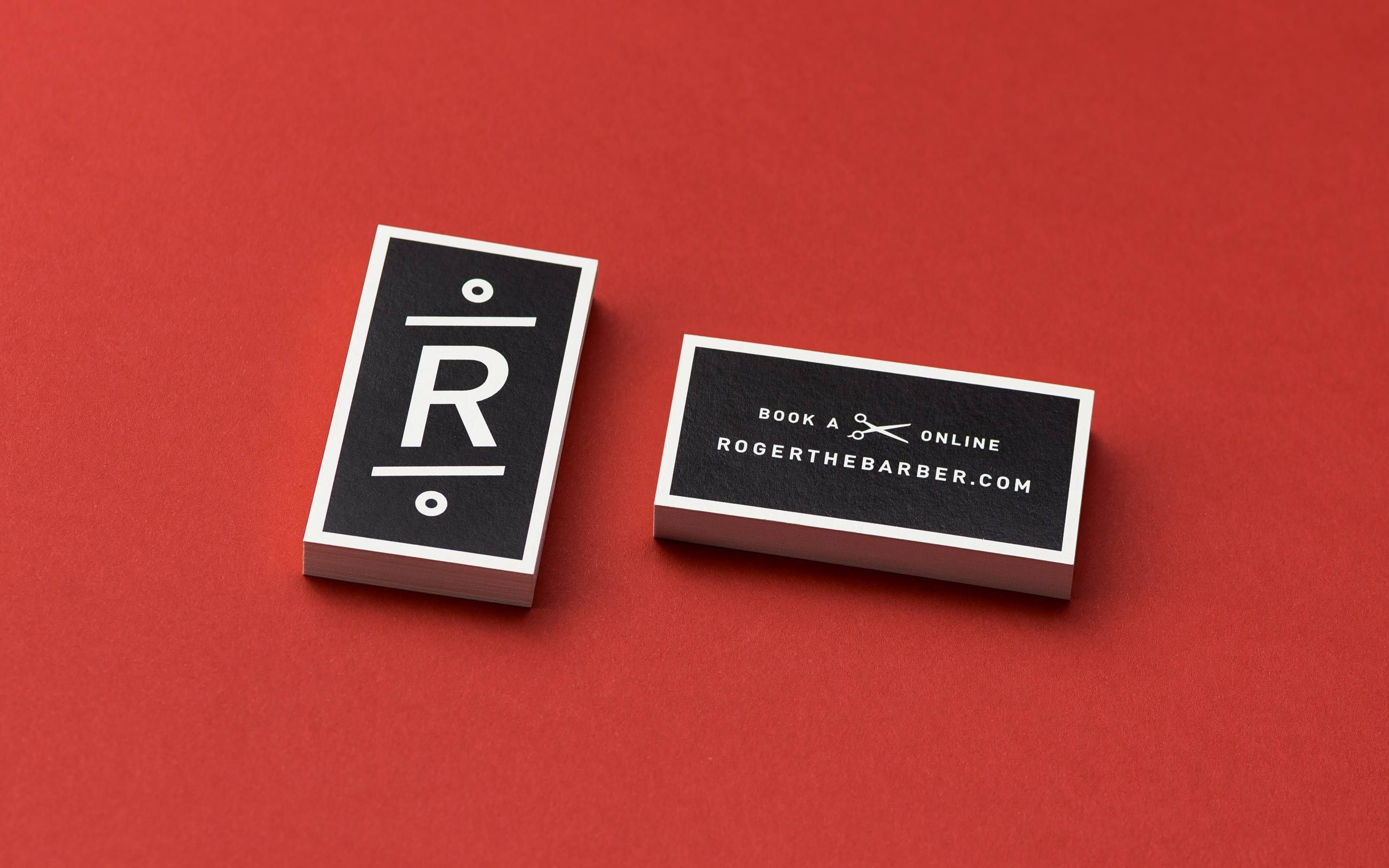 Roger The Barber - Business Cards | Business Card Inspiration ...