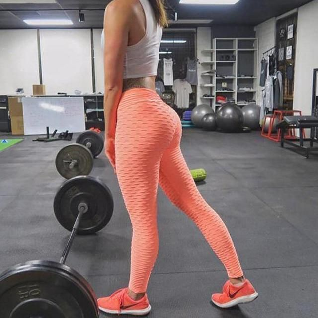 16aef1cfeee54 Textured anti-cellulite leggings in 2019 | Leggings | Workout ...