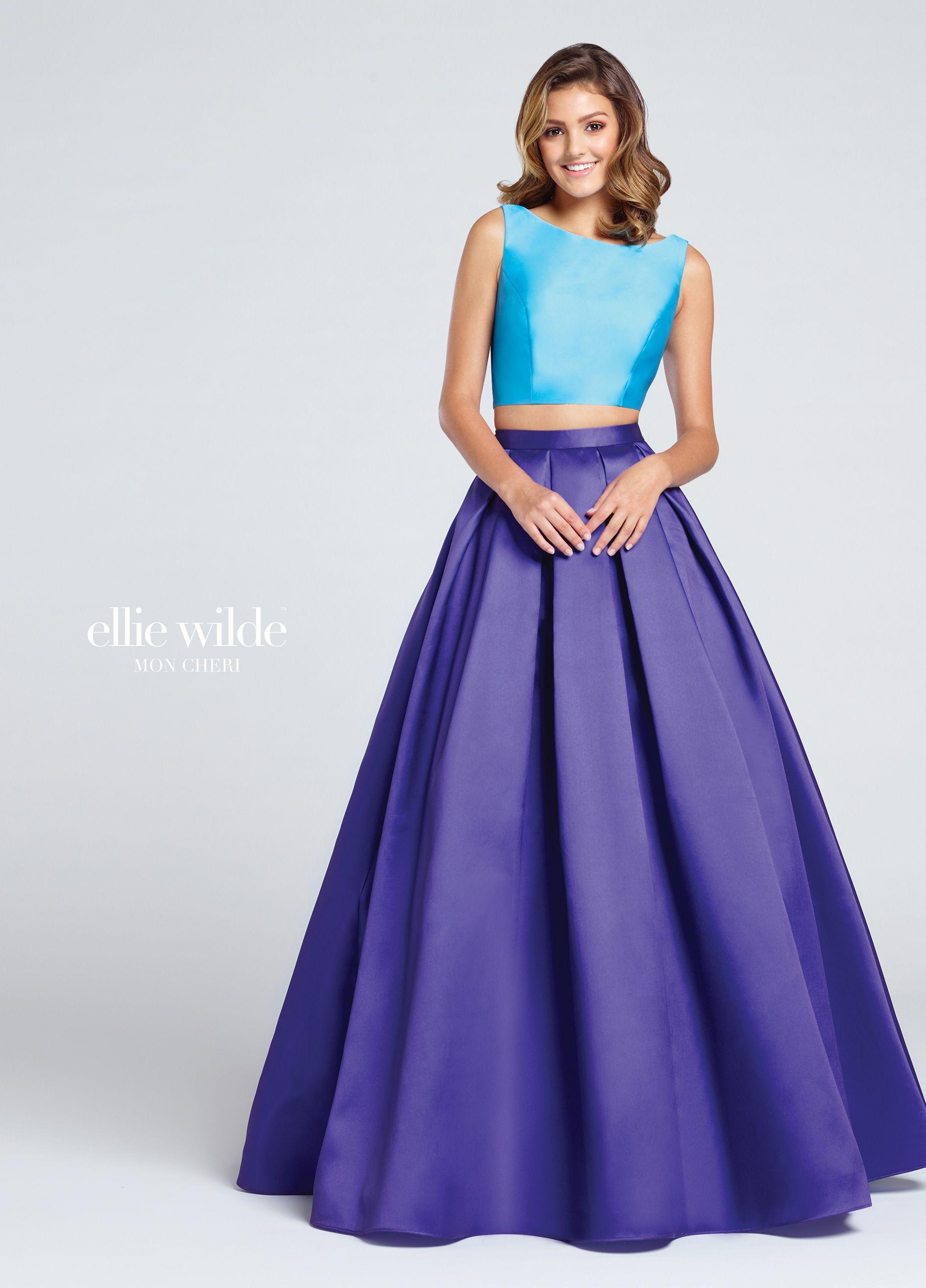 Colección 2018 Ellie Wilde Vestidos de fiesta largos | Ropa linda ...