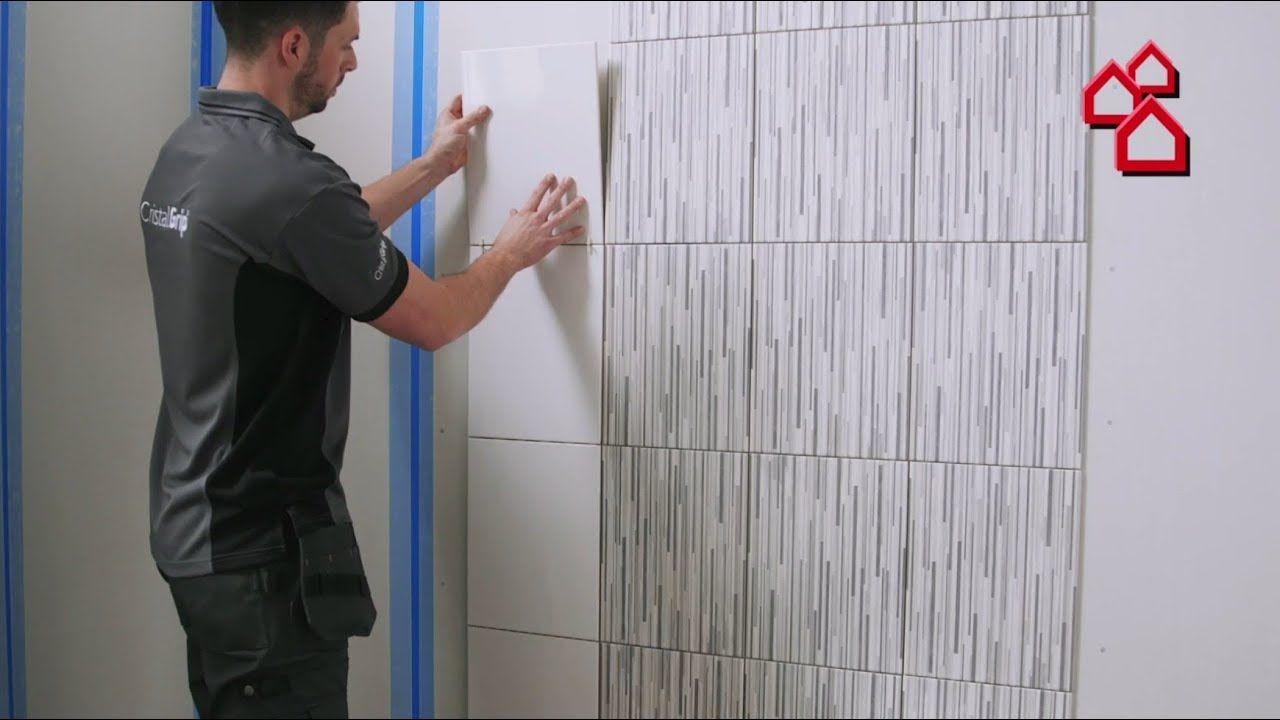 Die Neue Art Fliesen Zu Verlegen Mit Cristalgrip Von Johnson Tiles Bauhaus Tv Youtube Badezimmer Fliesen Fliesen Fliesen Verlegen
