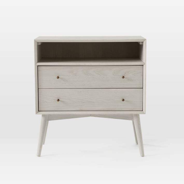 Best Mid Century Grand Nightstand Pebble With Images 400 x 300