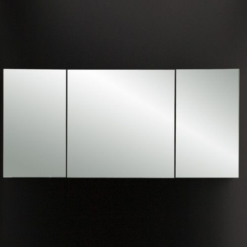 Lacava Plaza Triple Mirror Medicine Cabinet Modern Bathroom Mirrors