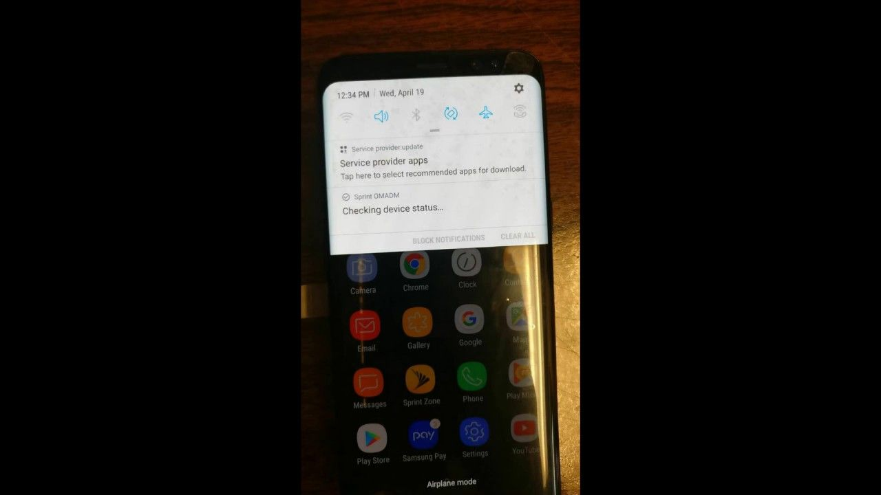 Unlock Samsung Galaxy S8 Sprint G950P | Unlocking services