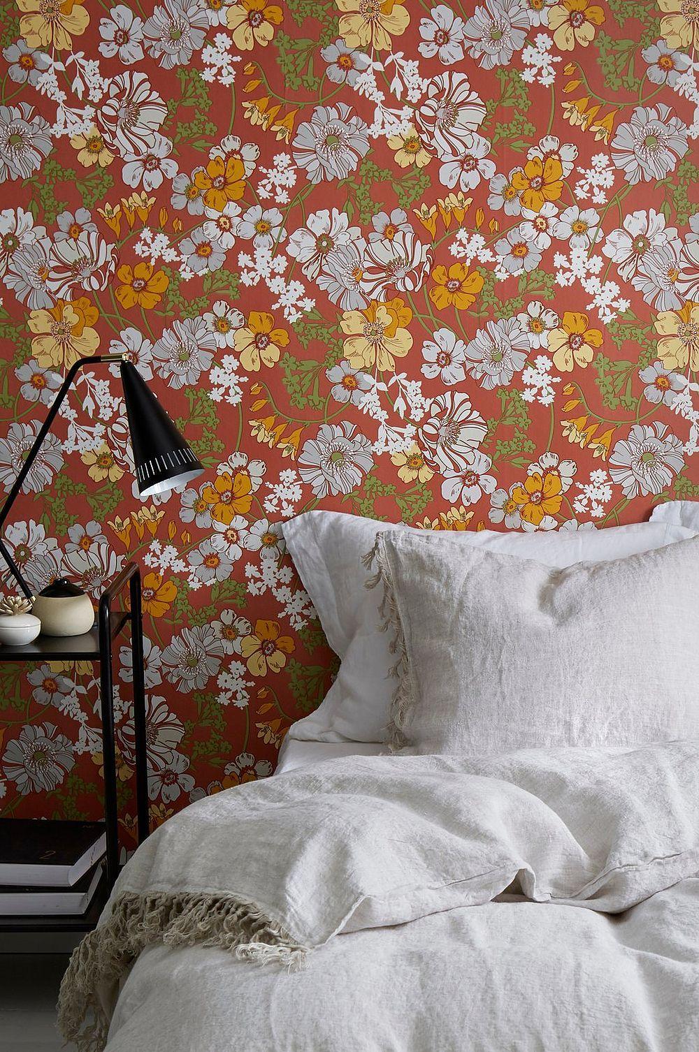 Wallpaper by ellos Tapet Wendy - Brun - Hem & inredning - Ellos.se ...
