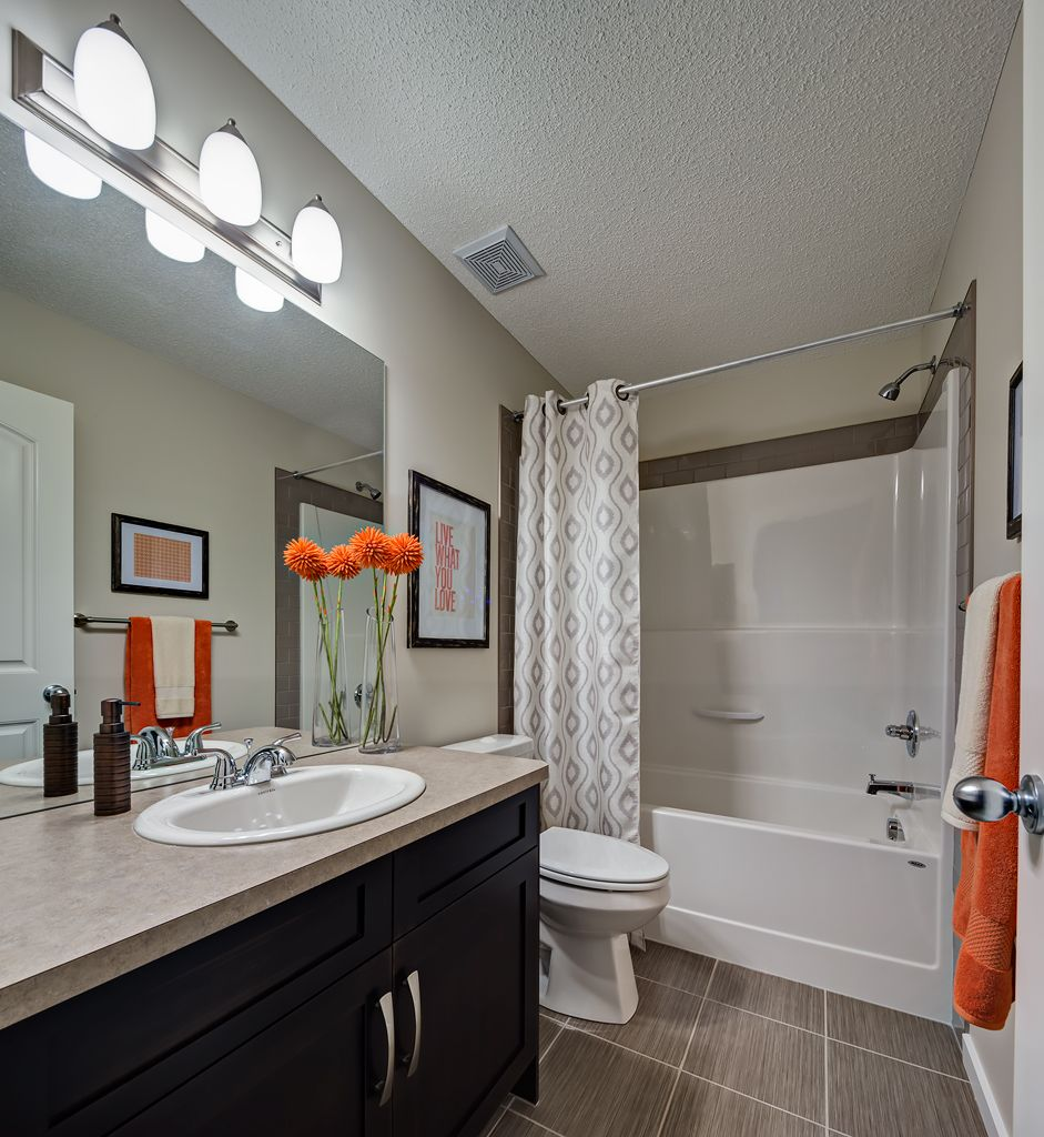 Cheap Bathroom Remodel, Main Bathroom
