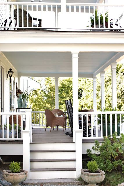 For The Love Of A House House With Porch Decks Porches Patio